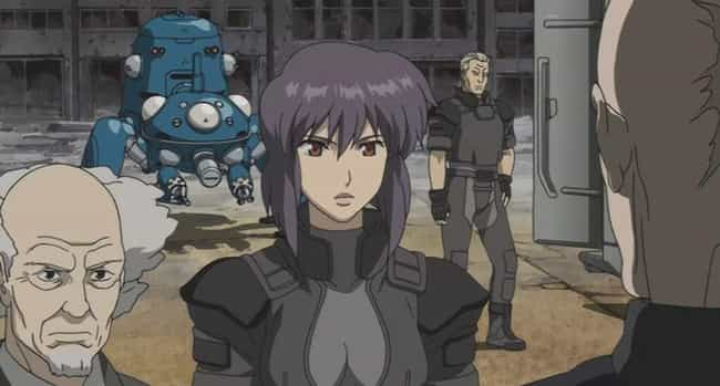 Ghost in the Shell is listed (or ranked) 2 on the list 14 Brilliant Anime Intended For Intelligent Viewers