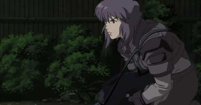 Ghost in the Shell is listed (or ranked) 4 on the list 14 Exciting Action Anime Where Characters Don't Have Special Powers