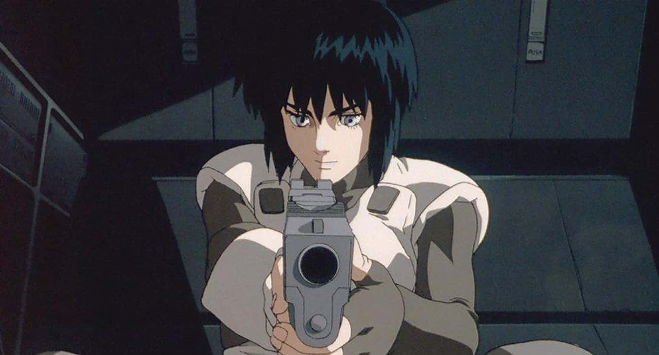 Ghost in the Shell is listed (or ranked) 4 on the list 15 Anime With Strong Female Characters