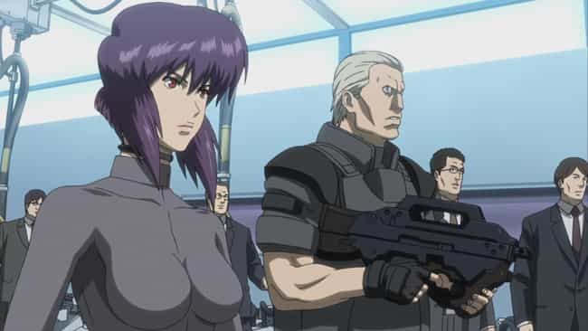 Ghost in the Shell: Stand Alon... is listed (or ranked) 3 on the list The Best Anime Like Psycho-Pass