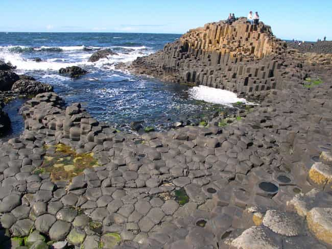 Giant's Causeway is listed (or ranked) 3 on the list The Strangest Places On Earth