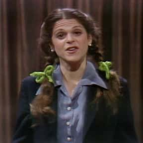 Gilda Radner is listed (or ranked) 20 on the list Famous University Of Michigan Alumni