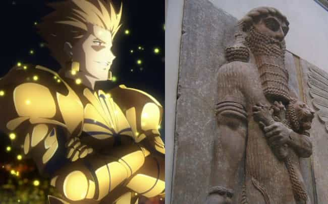 Gilgamesh is listed (or ranked) 3 on the list Historical Figures Who Show Up In The Fate Series