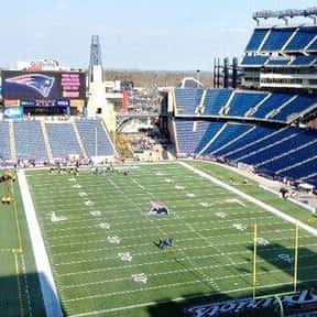 Gillette Stadium is listed (or ranked) 21 on the list The Best NFL Stadiums