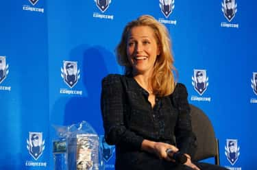 Gillian Anderson is listed (or ranked) 2 on the list 30 Actresses You Didn't Know Are Bisexual