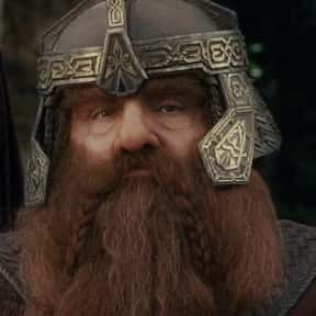 Gimli is listed (or ranked) 4 on the list The Best Lord of the Rings Characters