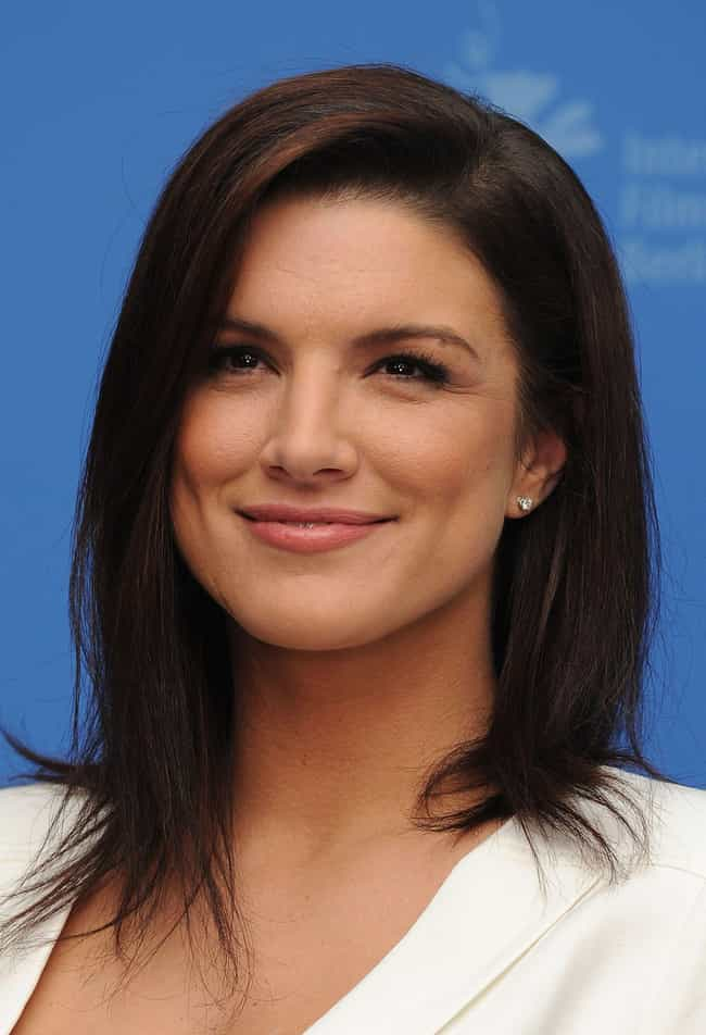 Gina Carano is listed (or ranked) 2 on the list Female Celebs With The Best Arms