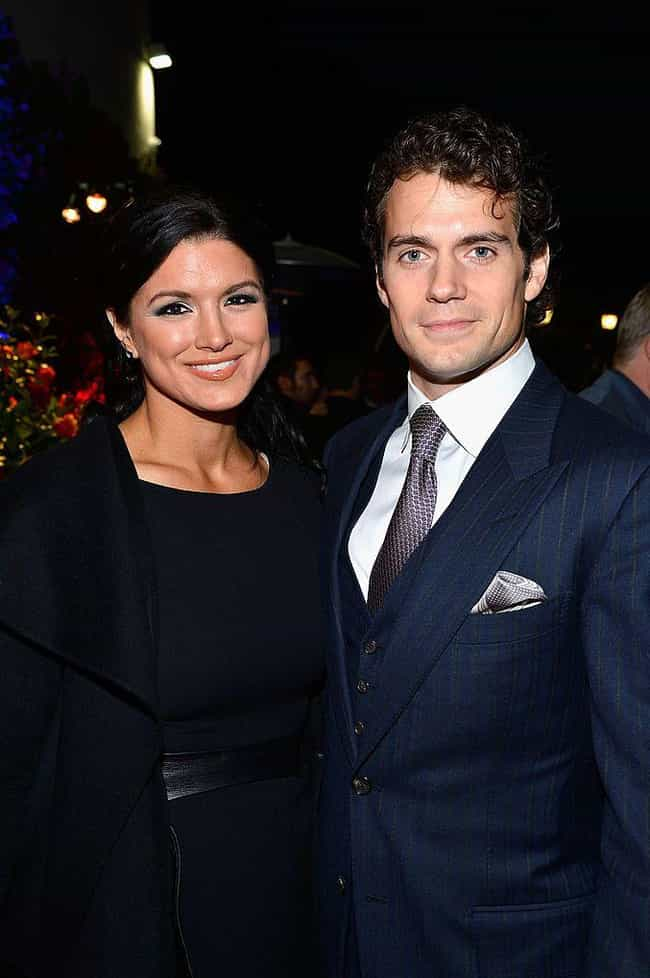 Gina Carano is listed (or ranked) 4 on the list Henry Cavill Loves and Hookups