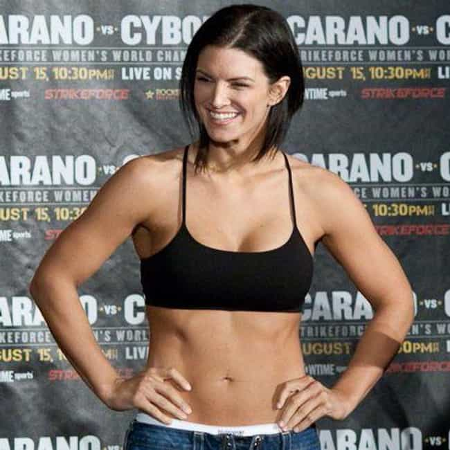 Gina Carano is listed (or ranked) 3 on the list The Top Female MMA Fighters