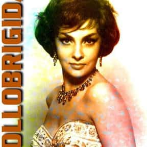 Gina Lollobrigida is listed (or ranked) 9 on the list The Most Beautiful Pin-Up Girls of the '50s