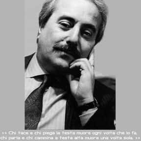 Giovanni Falcone is listed (or ranked) 1 on the list Famous People From Sicily