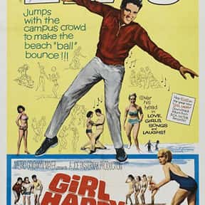Girl Happy is listed (or ranked) 9 on the list The Best Elvis Presley Movies