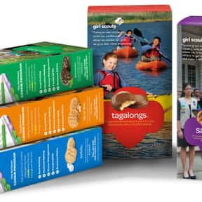 Girl Scout Cookies is listed (or ranked) 10 on the list The Very Best Types of Cookies, Ranked