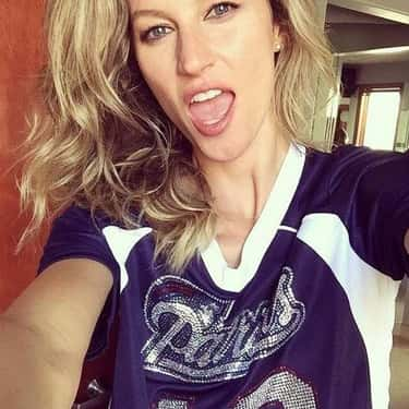 Gisele Bündchen is listed (or ranked) 1 on the list Celebrity Patriot Fans