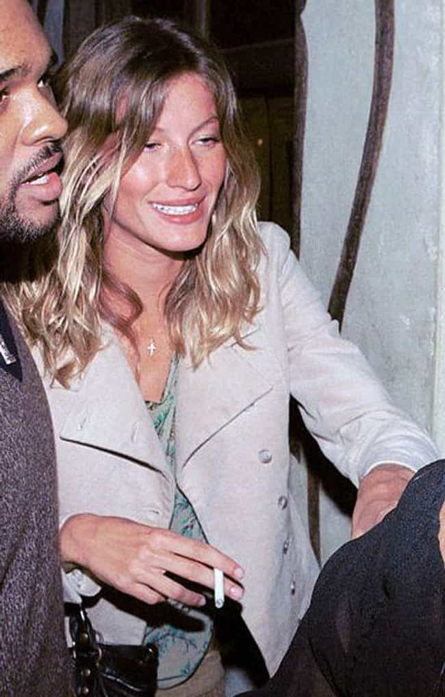 Gisele Bündchen is listed (or ranked) 3 on the list Celebrities Who Quit Smoking