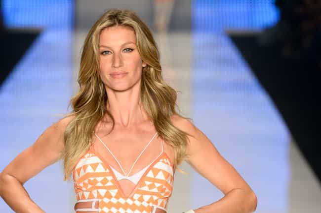 Gisele Bündchen is listed (or ranked) 4 on the list Famous Female Fashion Models