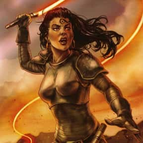 Githany is listed (or ranked) 20 on the list My Top 30 Star Wars Expanded Universe Characters
