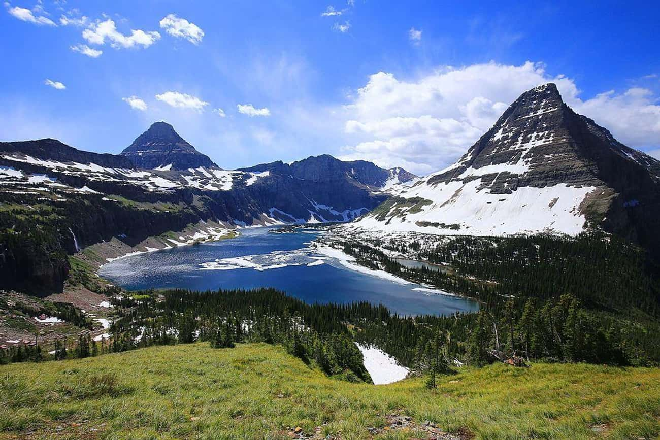 Glacier National Park is listed (or ranked) 1 on the list The Most Beautiful Places In America