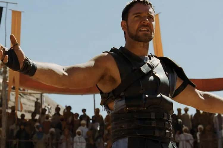 'Gladiator' Cut A Scene Where Maximus Makes Product Endorsements, Which Gladiators Really Did