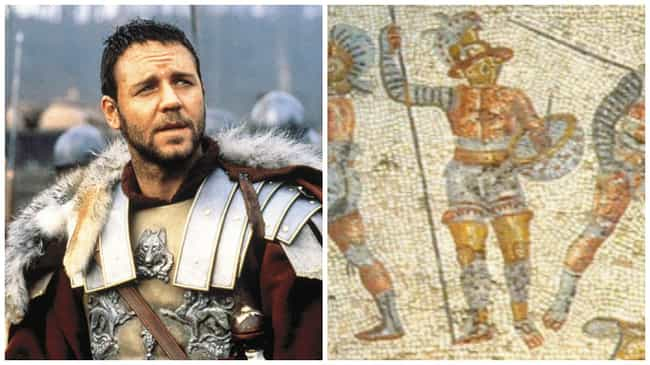 Gladiator is listed (or ranked) 4 on the list The Best Oscar-Winning Movies Based on True Stories