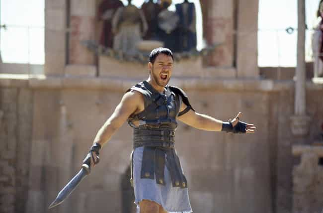 Gladiator is listed (or ranked) 4 on the list These Are The Most Historically Inaccurate Movies Of All Time
