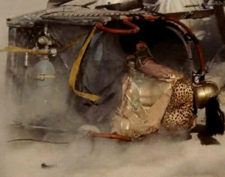 The Gas Cylinder In 'Gladiator'