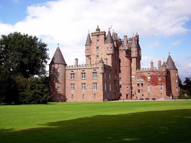 Glamis Castle is listed (or ranked) 4 on the list The Most Beautiful Castles in Scotland