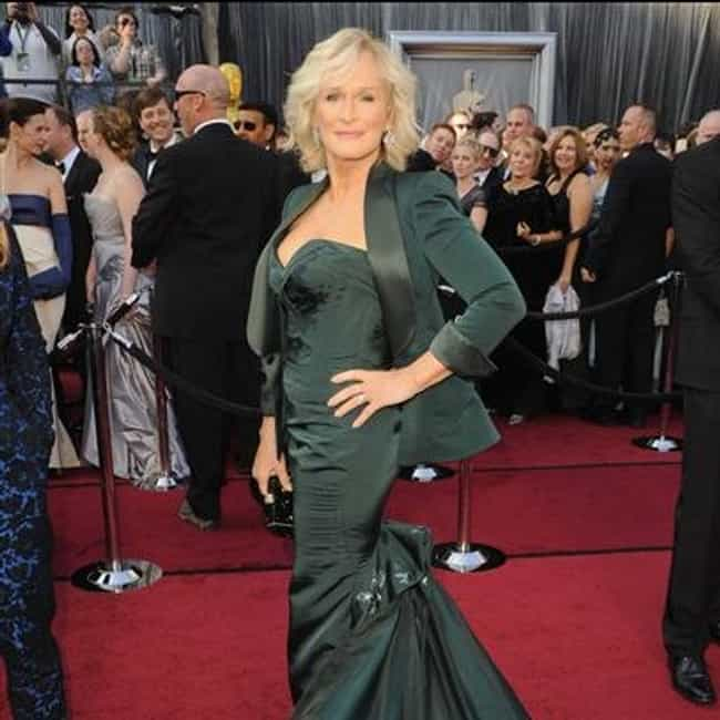 Glenn Close is listed (or ranked) 3 on the list 2012 Oscars Red Carpet Worst Dressed
