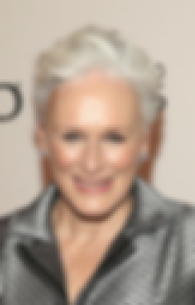 Glenn Close is listed (or ranked) 3 on the list Famous People who Majored in Anthropology