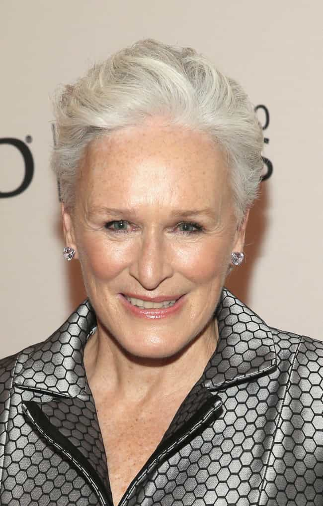 Glenn Close is listed (or ranked) 4 on the list 12 Celebrities You Might Run Into While Flying Coach