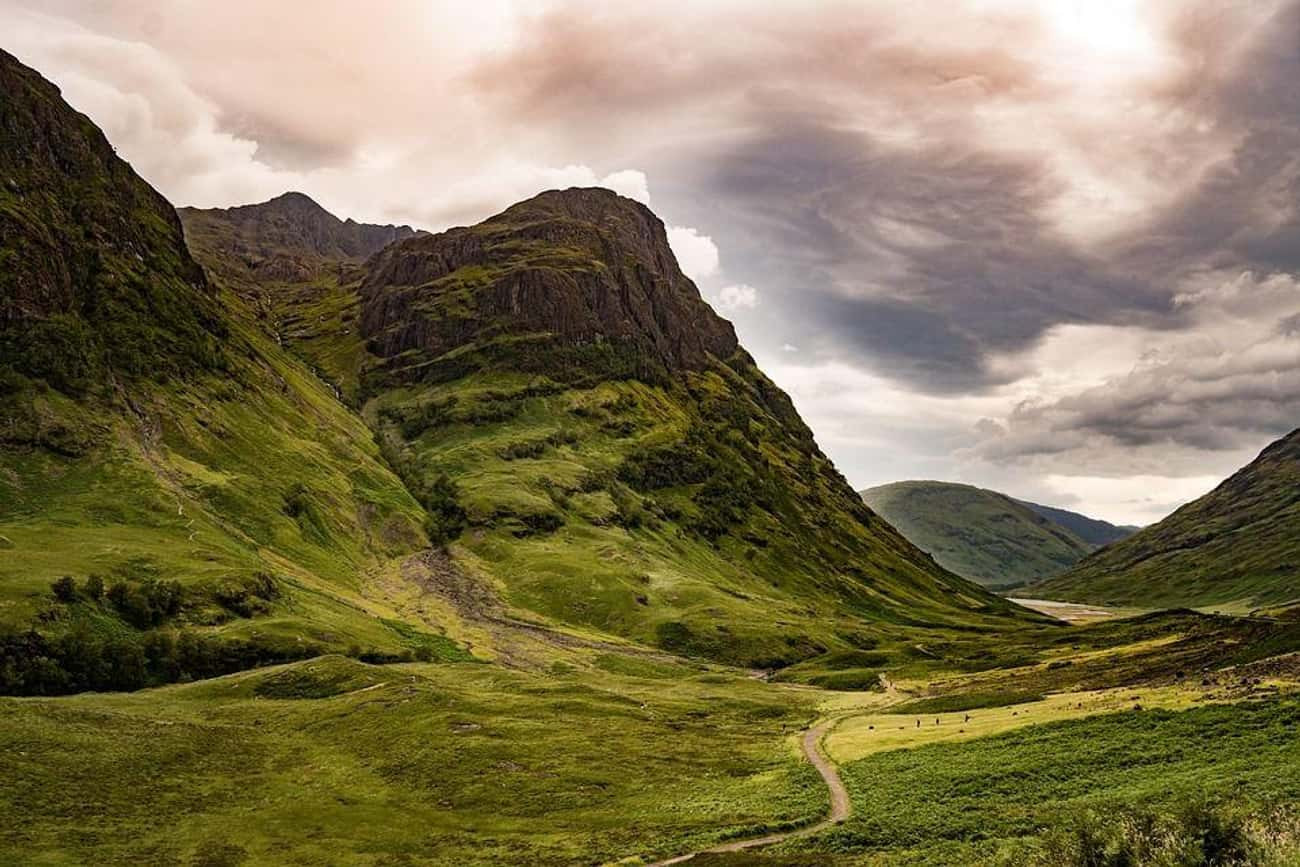 Glen Coe is listed (or ranked) 3 on the list The Most Beautiful Places in Europe