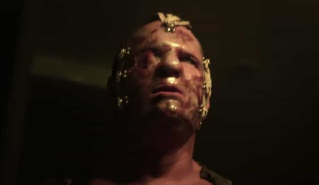 Kane is listed (or ranked) 3 on the list 12 Pro Wrestlers Who Starred In Horror Films