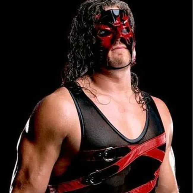 Kane is listed (or ranked) 2 on the list The Best Masked Wrestlers in WWE History