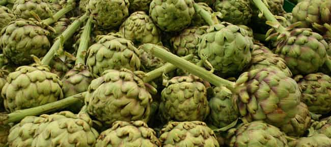 Artichoke is listed (or ranked) 1 on the list Vegetables That Are Technically Flowers