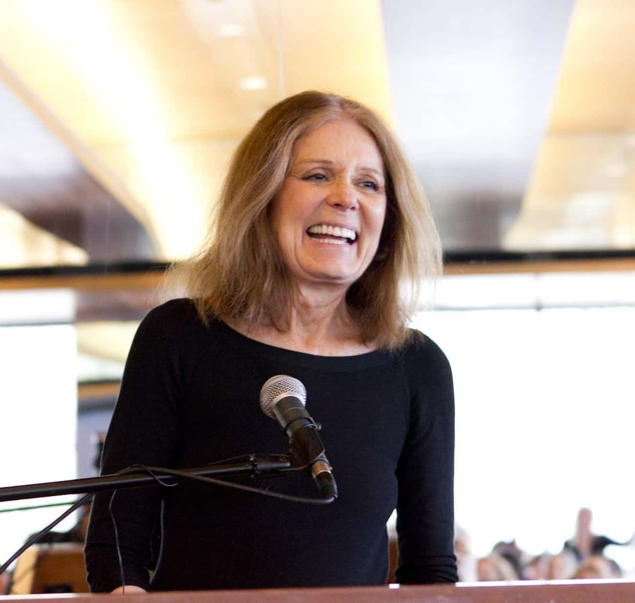 Gloria Steinem is listed (or ranked) 3 on the list Famous People Born in 1934