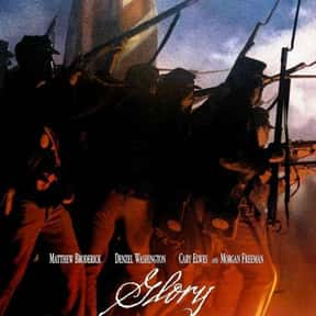 Glory is listed (or ranked) 6 on the list The Best Historical Drama Movies Of All Time, Ranked