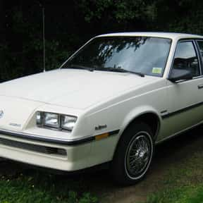 1985 Buick Skyhawk Hatchback is listed (or ranked) 8 on the list List of Popular Hatchbacks