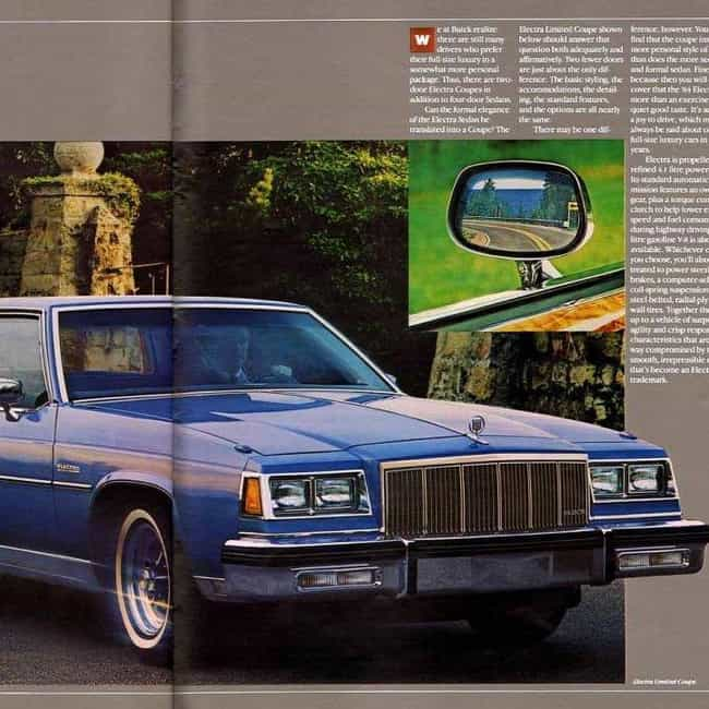 1988 Buick Electra Coupé is listed (or ranked) 4 on the list List of 1988 Buicks