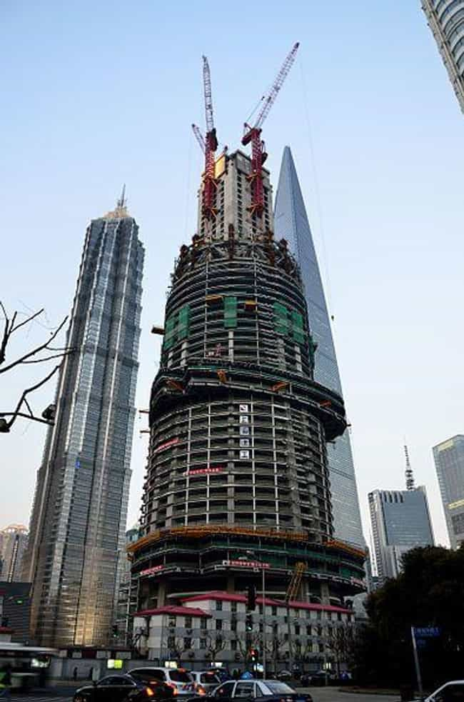 Shanghai Tower is listed (or ranked) 2 on the list The Tallest Buildings in the World