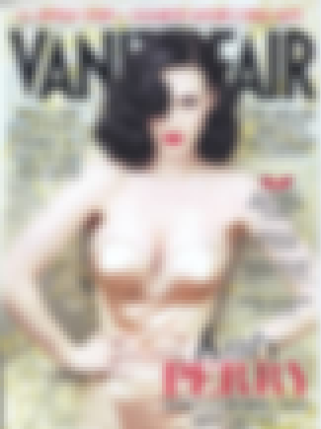 Katy Perry is listed (or ranked) 4 on the list The Best Vanity Fair Covers