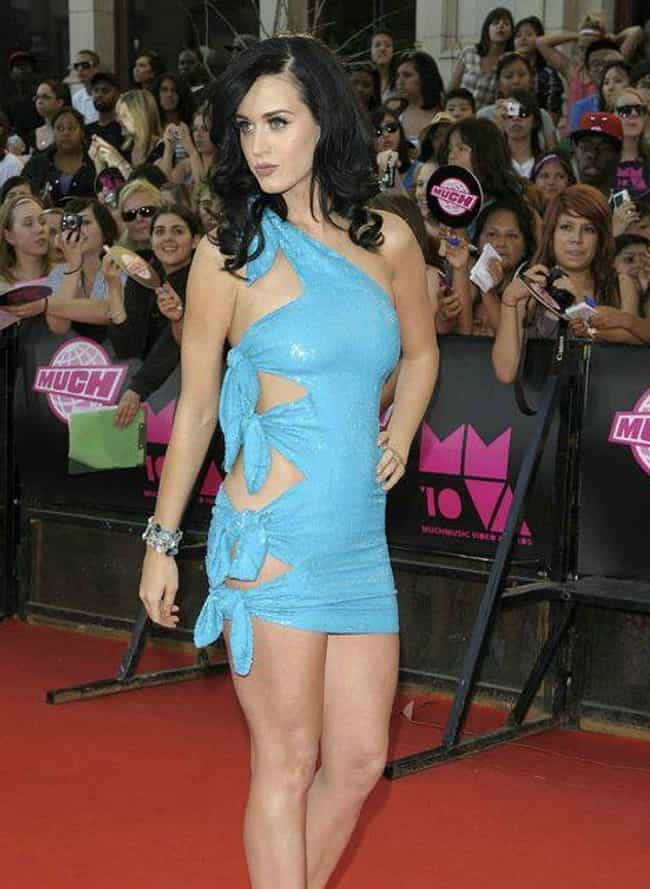 Katy Perry is listed (or ranked) 4 on the list The Hottest Babes in Cut Out Dresses