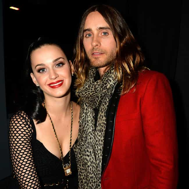 Katy Perry is listed (or ranked) 3 on the list Jared Leto's Loves & Hookups