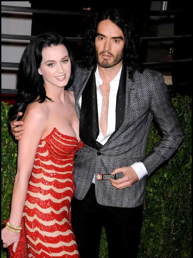 Katy Perry is listed (or ranked) 3 on the list The Shortest Celebrity Marriages