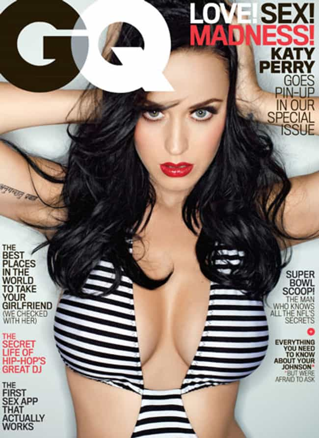 Katy Perry is listed (or ranked) 4 on the list The Best GQ Covers