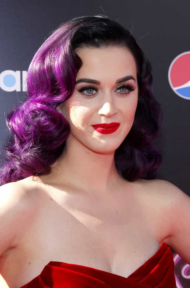 Katy Perry is listed (or ranked) 1 on the list Famous Female Artists