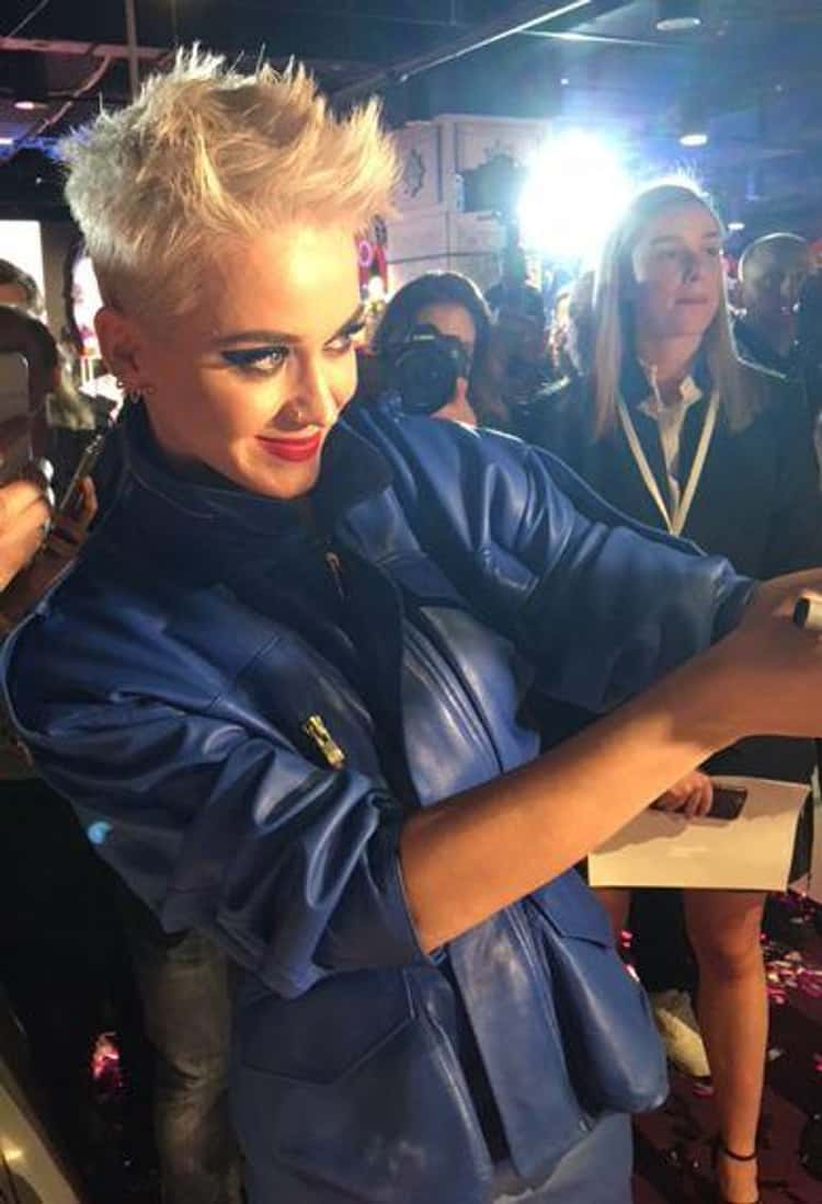 Katy Perry Carries Locks Of Taylor Swift And Miley Cyrus' Hair