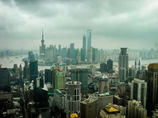 Aurora Plaza is listed (or ranked) 2 on the list List of Famous Shanghai Buildings & Structures