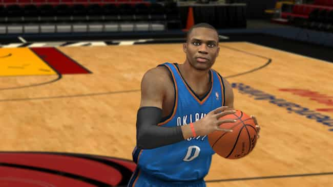 Russell Westbrook is listed (or ranked) 4 on the list The Top NBA 2K13 Players