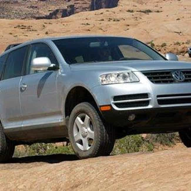 2004 Volkswagen Touareg is listed (or ranked) 3 on the list The Best Volkswagen Touaregs of All Time