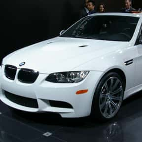 2008 BMW M3 Sedan is listed (or ranked) 1 on the list The Best BMW Sedans of All Time
